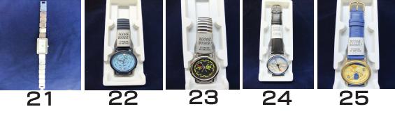 時計21〜25