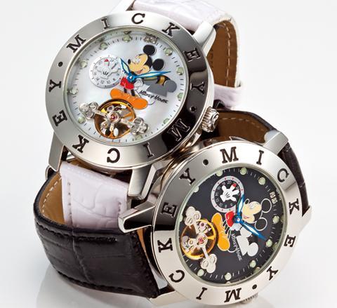 ディズニー80周年記念キスミッキー腕時計
